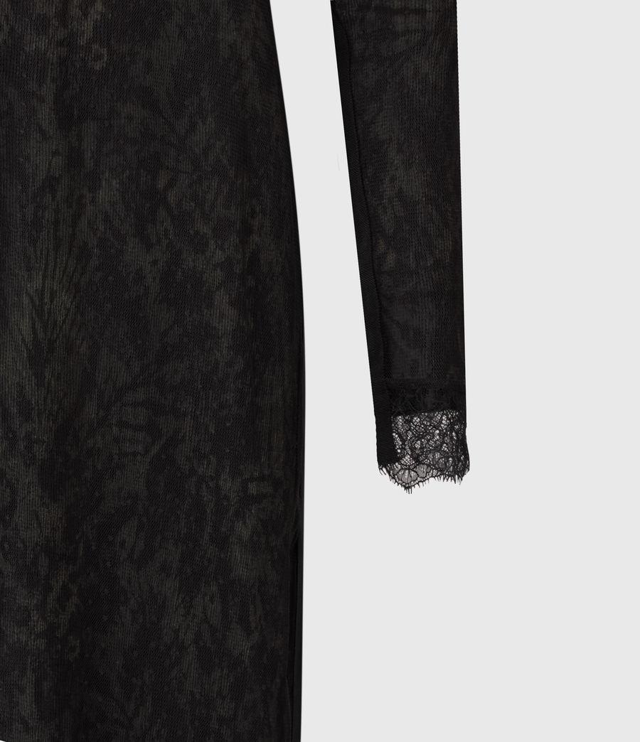 Women's Kiara Peace Dress (khaki_green) - Image 5