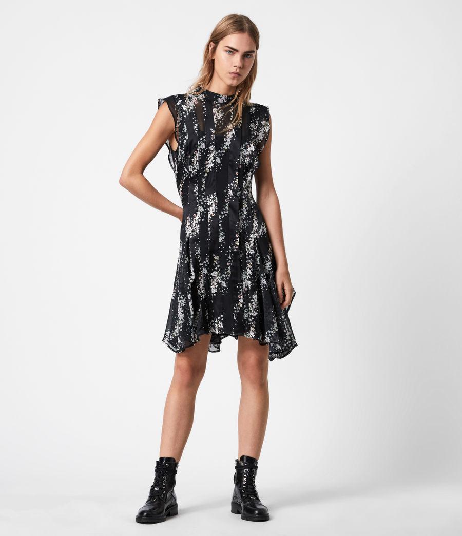 Womens Fleur Cultivar Dress (black) - Image 1