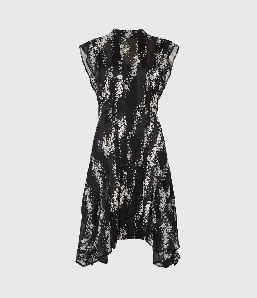 Womens Fleur Cultivar Dress (black) - Image 2