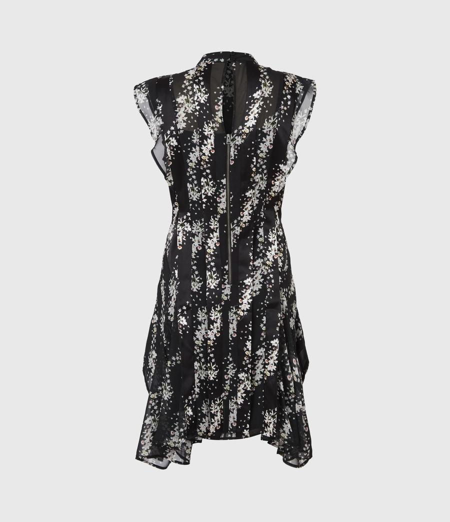 Womens Fleur Cultivar Dress (black) - Image 3
