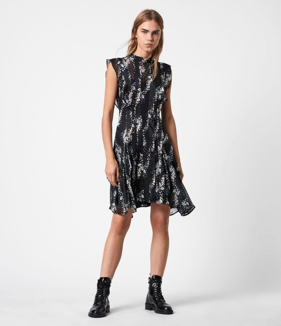 Womens Fleur Cultivar Dress (black) - Image 6