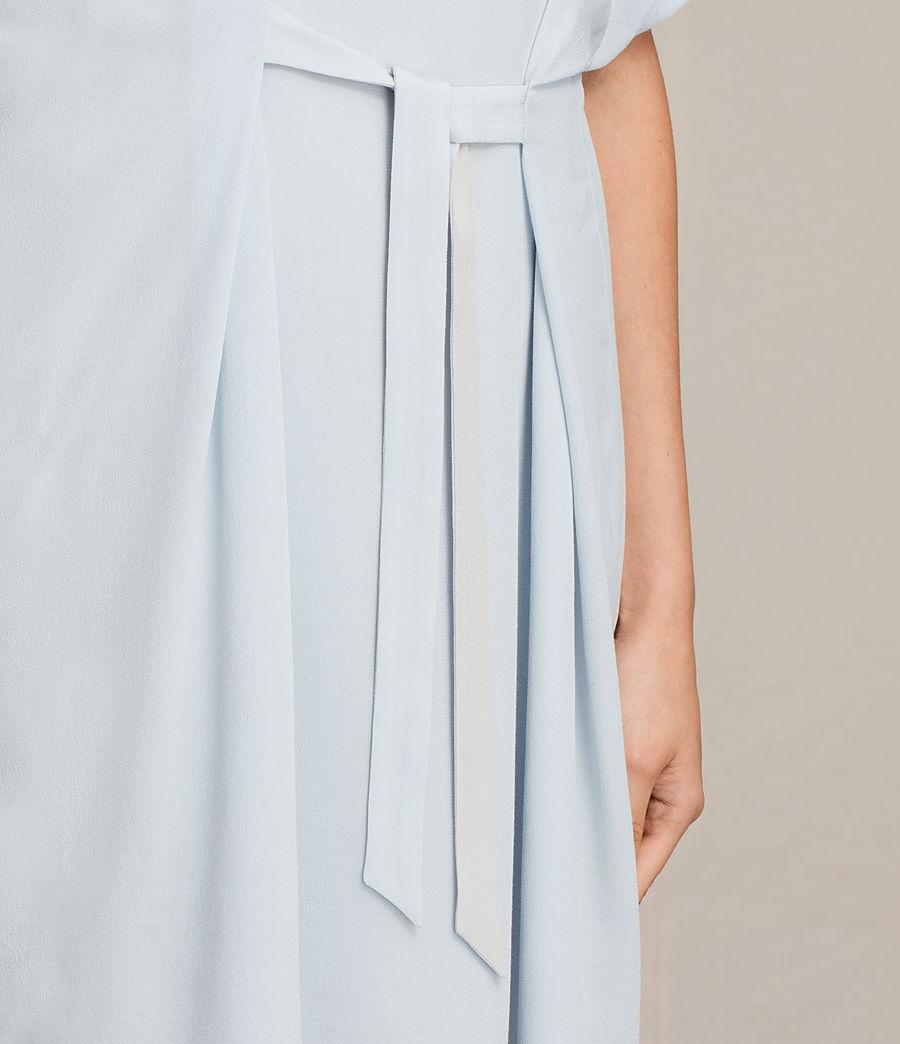 Womens Rae Dress (cloud_blue) - Image 2