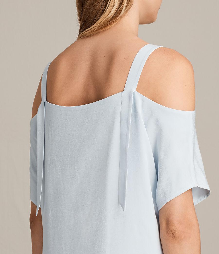Womens Rae Dress (cloud_blue) - Image 6