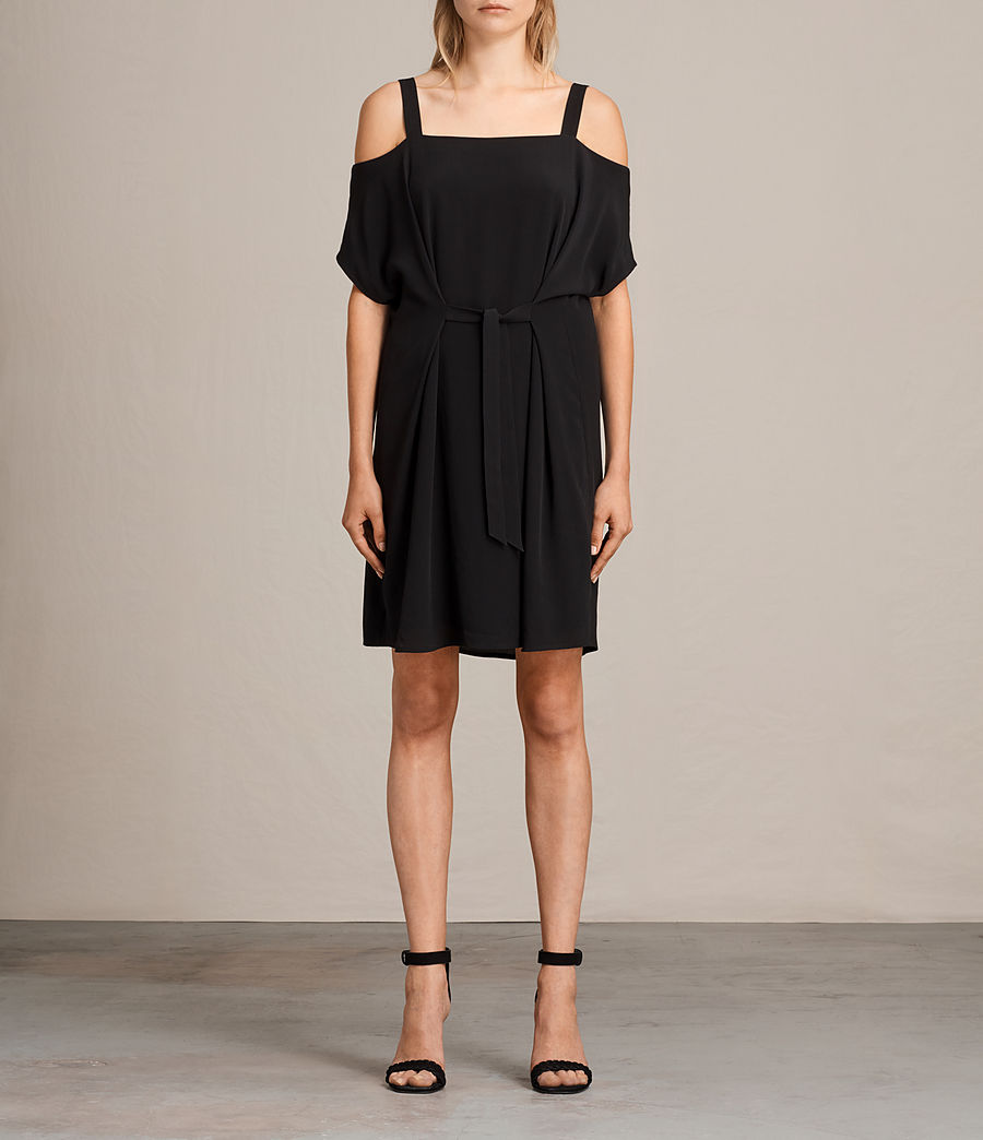 Womens Rae Dress (black) - Image 1