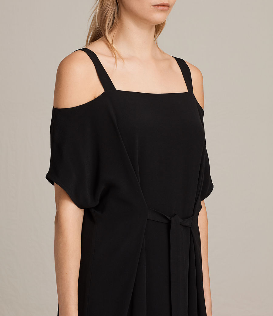 Womens Rae Dress (black) - Image 2