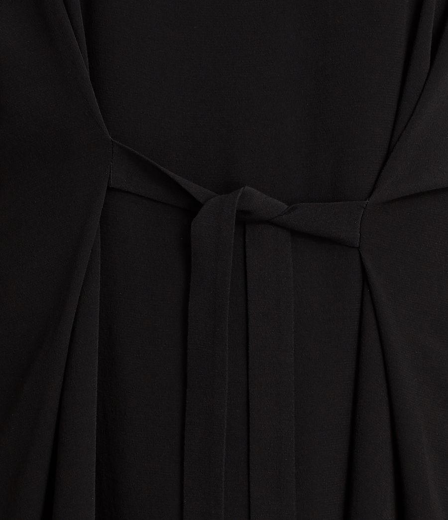 Womens Rae Dress (black) - Image 4