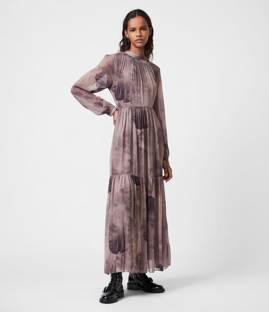 Womens Caya Nubila Dress (mink_grey) - Image 4