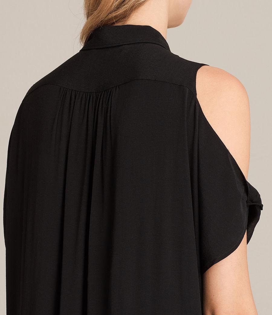 Womens Irie Dress (black) - Image 2