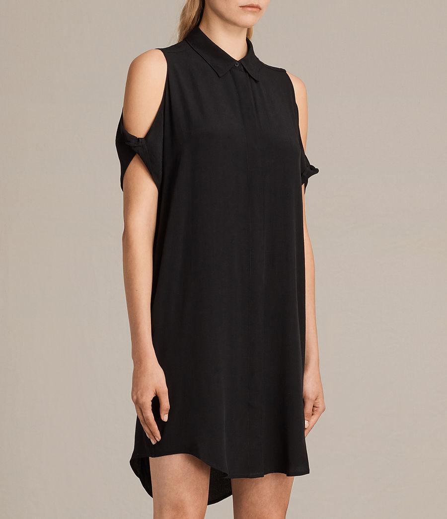 Womens Irie Dress (black) - Image 4