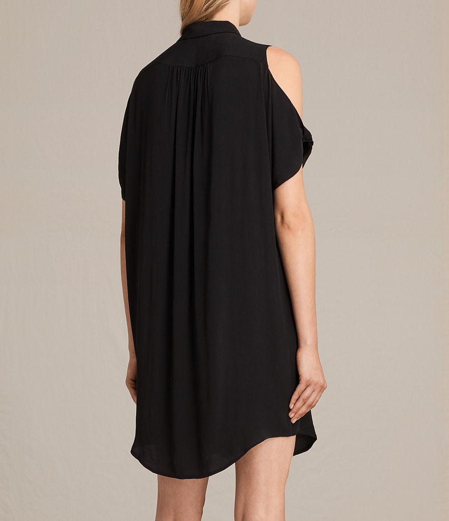 Womens Irie Dress (black) - Image 7