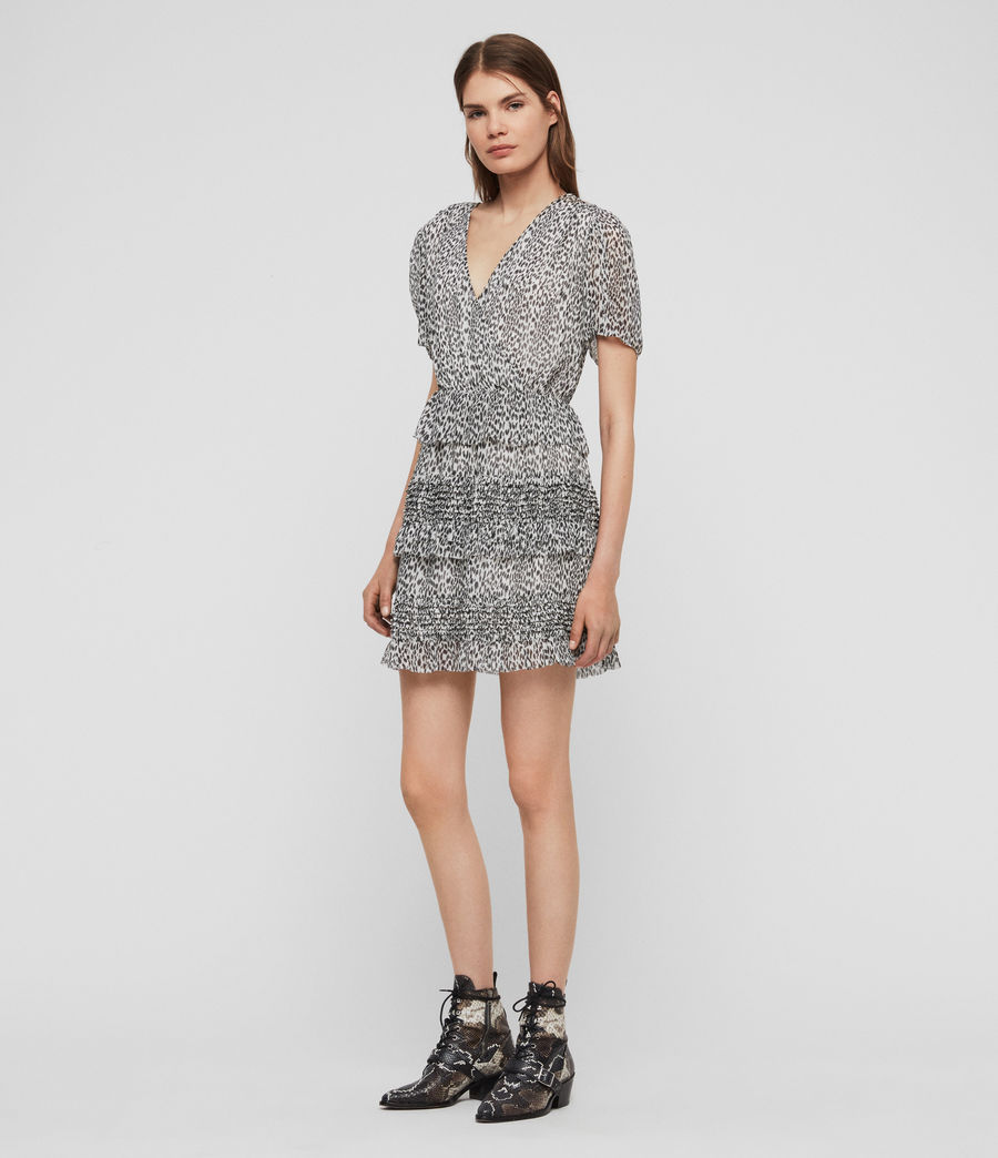 Women's Ilia Lep Dress (oyster_white) - Image 2