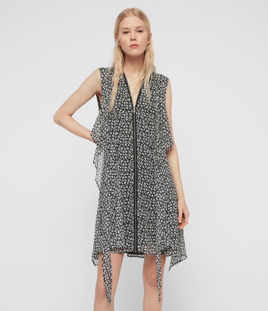 Womens Jayda Scatter Dress (grey) - Image 1