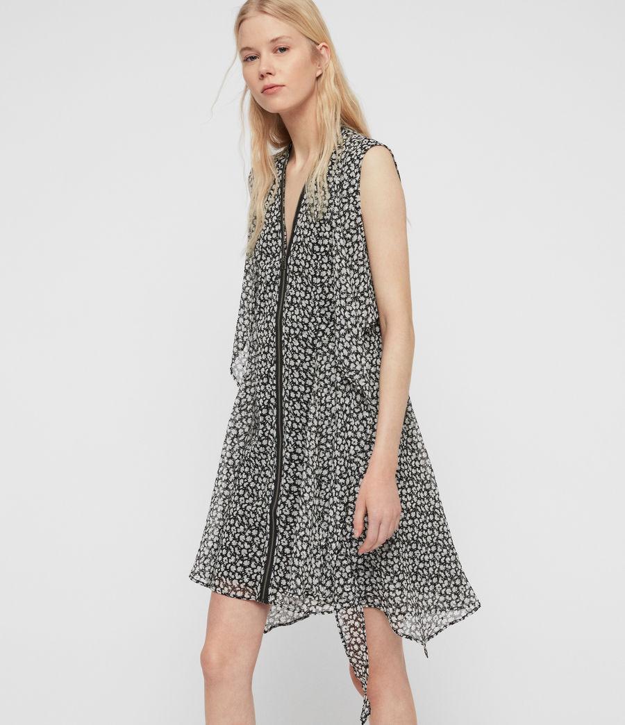 Womens Jayda Scatter Dress (grey) - Image 2