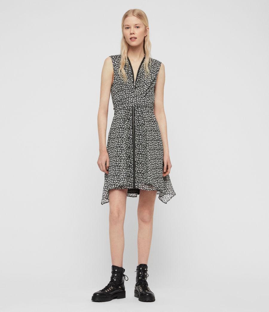Womens Jayda Scatter Dress (grey) - Image 3
