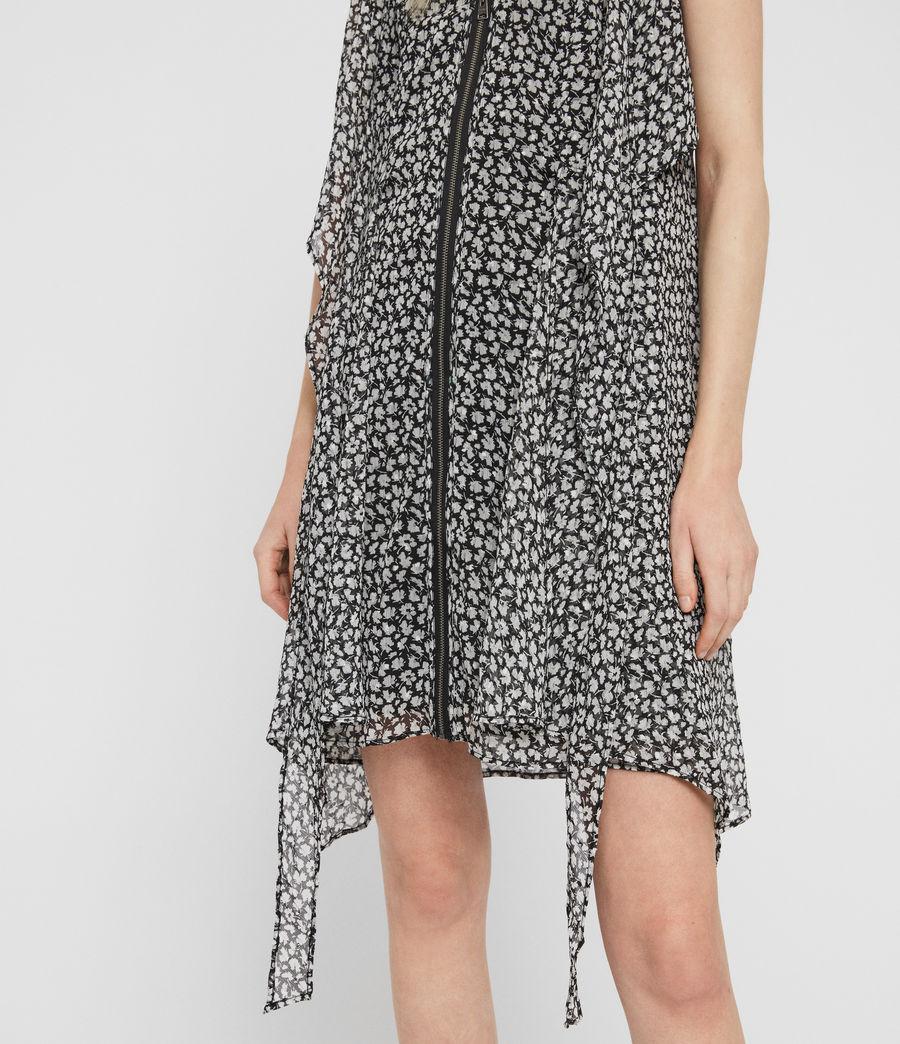 Womens Jayda Scatter Dress (grey) - Image 4