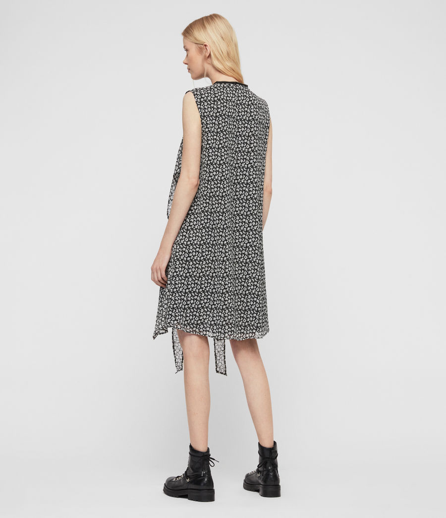 Womens Jayda Scatter Dress (grey) - Image 5