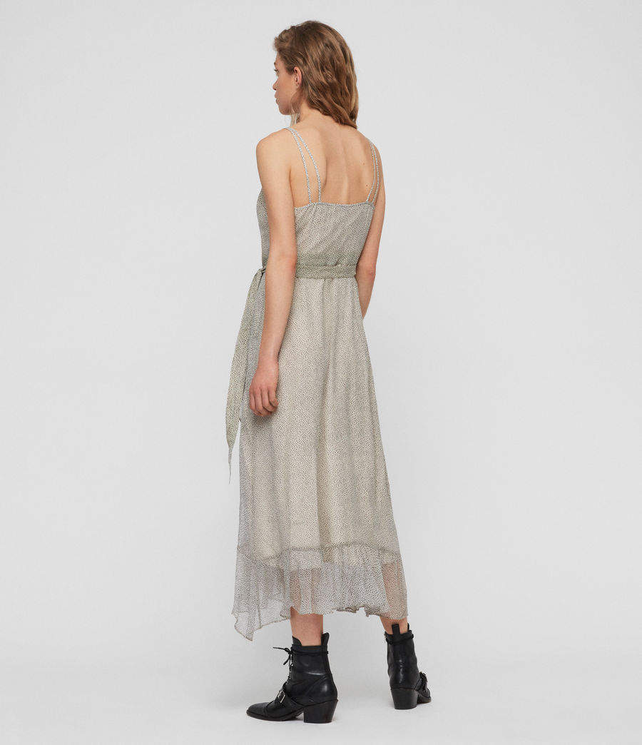 Womens Dayla Speckle Dress (oyster_white) - Image 5