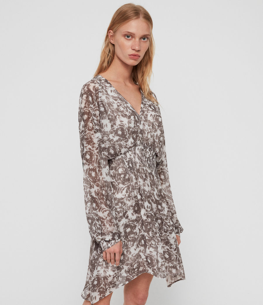 Womens Nichola Rosa Dress (pale_grey) - Image 2