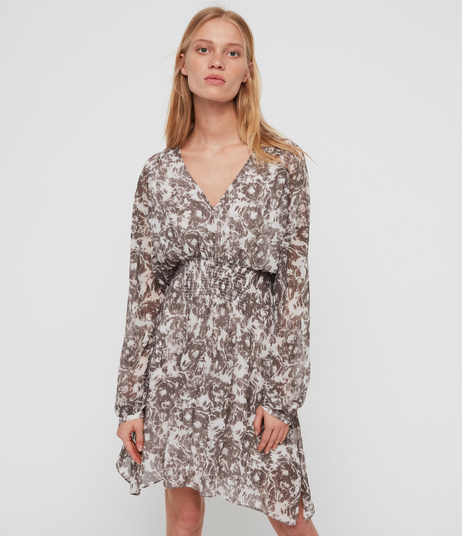 Womens Nichola Rosa Dress (pale_grey) - Image 4