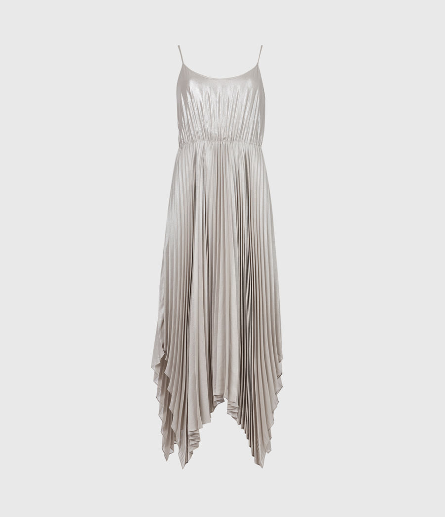 Damen Lerin Corina 2-In-1 Dress (chalk_pearl_grey) - Image 2