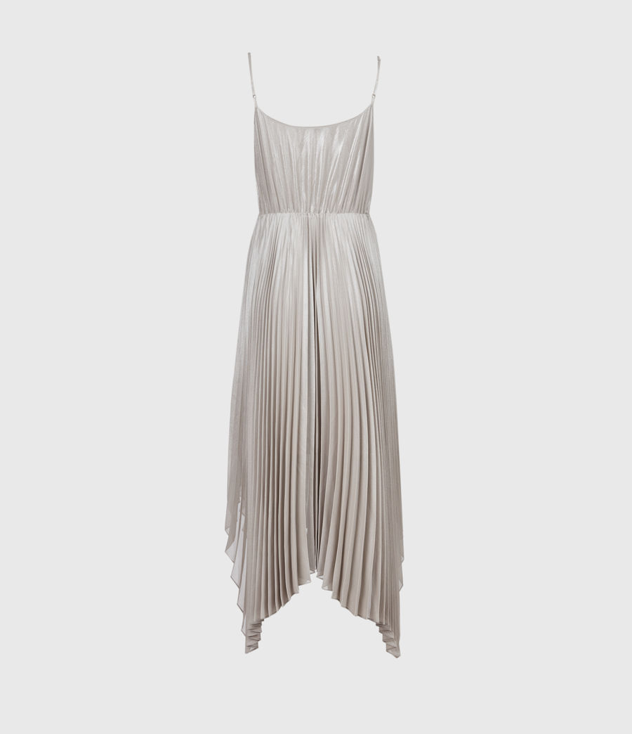 Damen Lerin Corina 2-In-1 Dress (chalk_pearl_grey) - Image 9