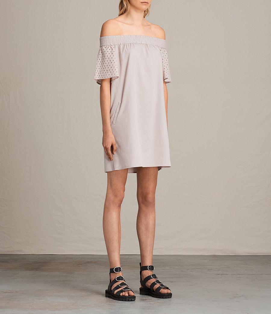 Womens Livia Emb Dress (champagne_pink) - Image 4