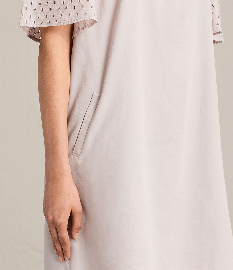 Womens Livia Emb Dress (champagne_pink) - Image 5