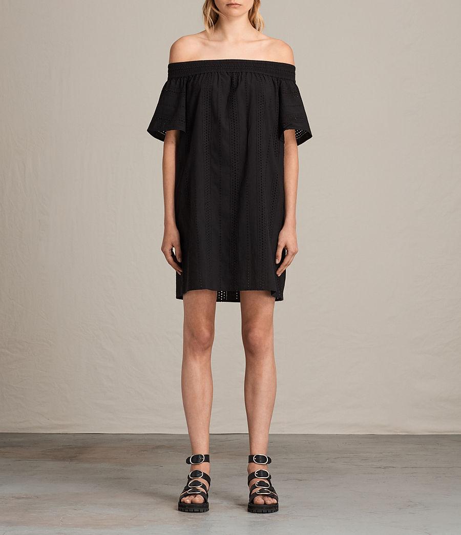Womens Livia Dress (black) - Image 1