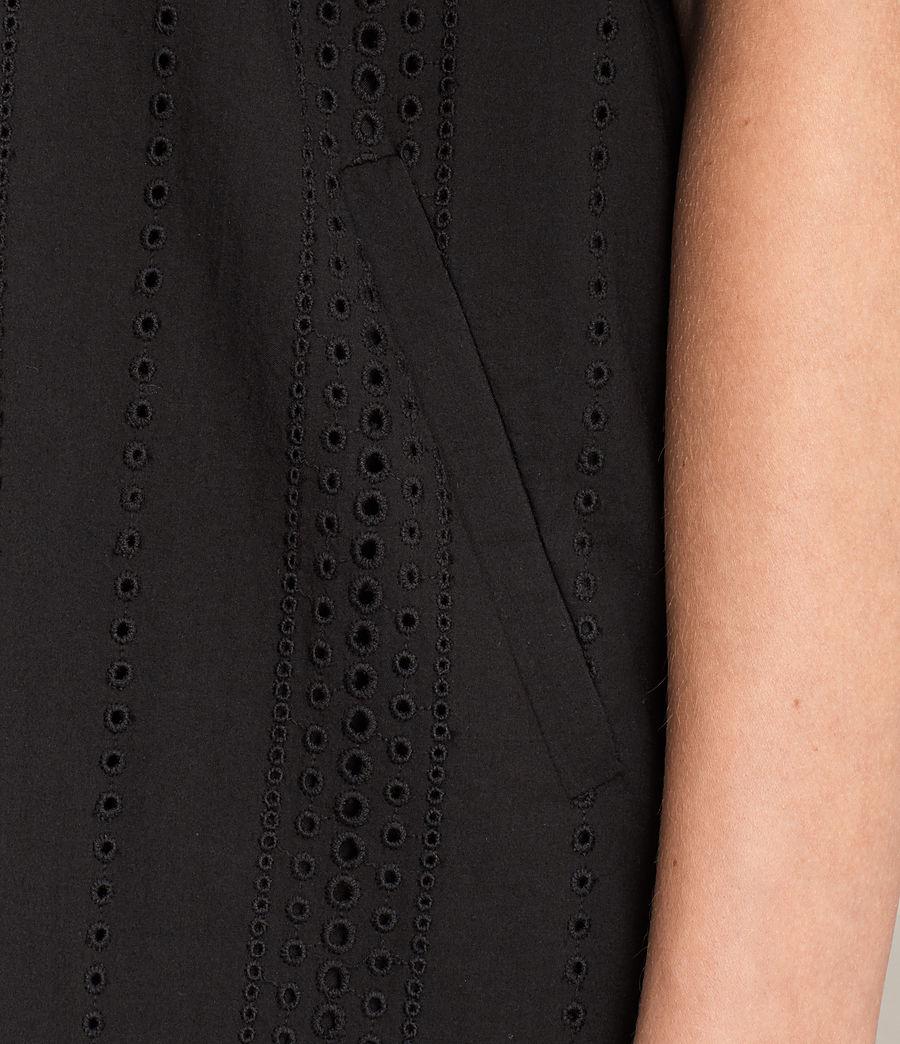 Womens Livia Dress (black) - Image 4