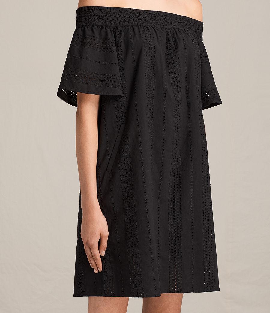 Womens Livia Dress (black) - Image 6