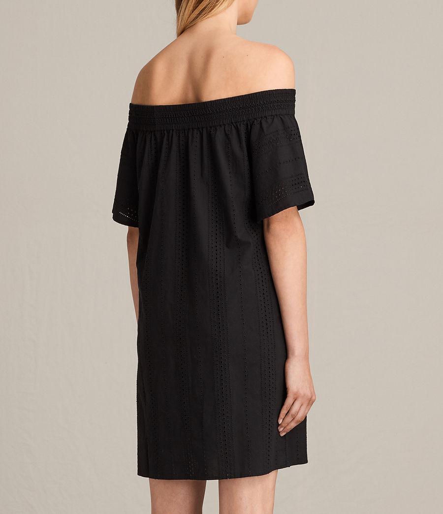Womens Livia Dress (black) - Image 7