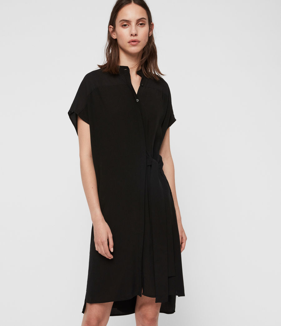 Womens Willow Dress (black) - Image 1