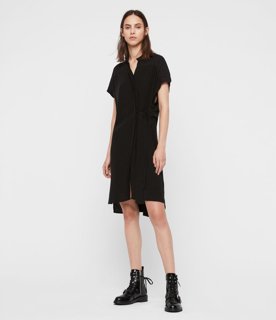 Women's Willow Dress (black) - Image 3