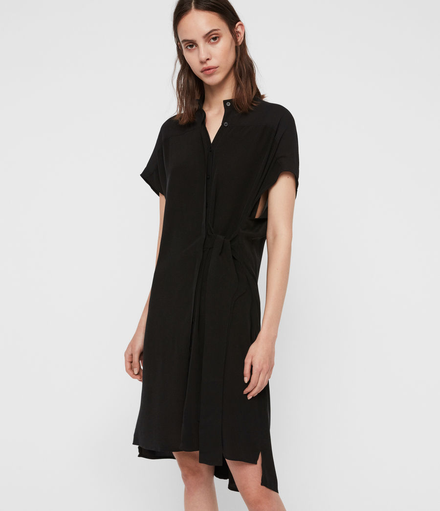 Women's Willow Dress (black) - Image 4