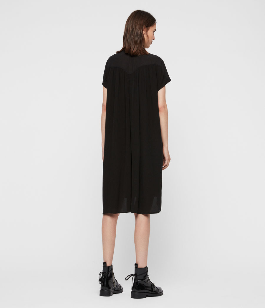 Women's Willow Dress (black) - Image 5