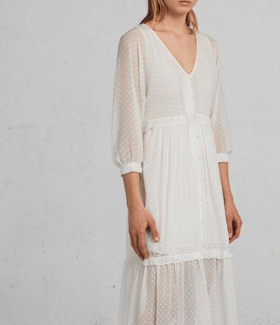 Mujer Vestido Palma Polka (chalk_white) - Image 2