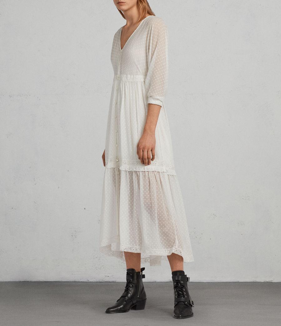 Mujer Vestido Palma Polka (chalk_white) - Image 3