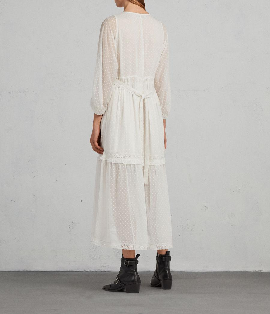 Mujer Vestido Palma Polka (chalk_white) - Image 4