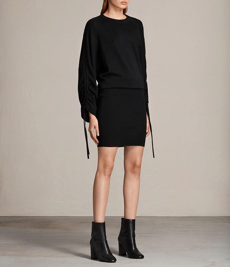 Damen Ero Kleid (black) - Image 3