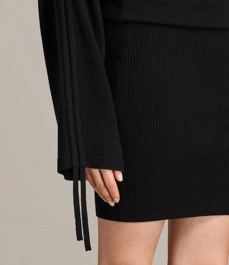 Damen Ero Kleid (black) - Image 6