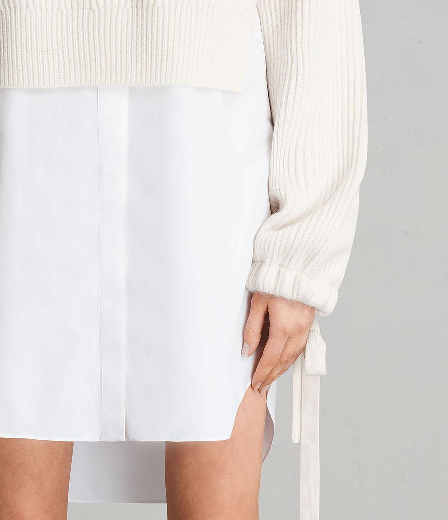 Femmes Robe-Pull Sura (chalk_white) - Image 2