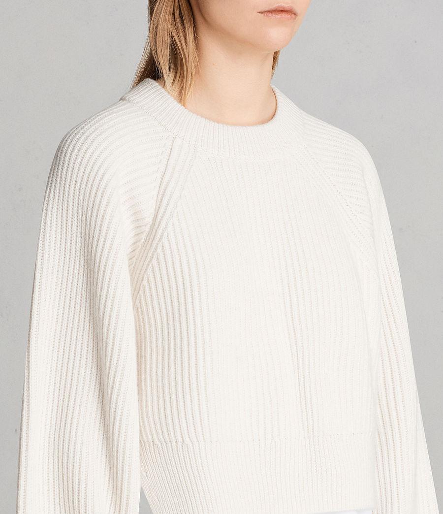 Femmes Robe-Pull Sura (chalk_white) - Image 4