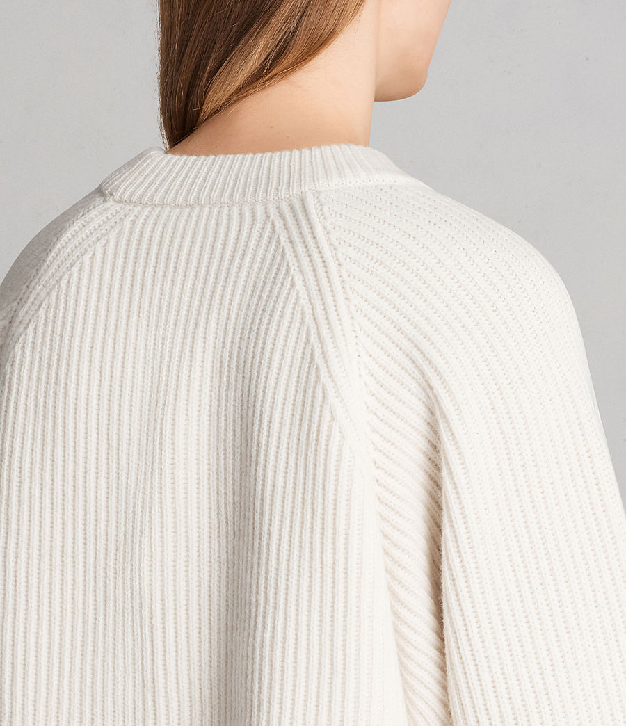 Femmes Robe-Pull Sura (chalk_white) - Image 5