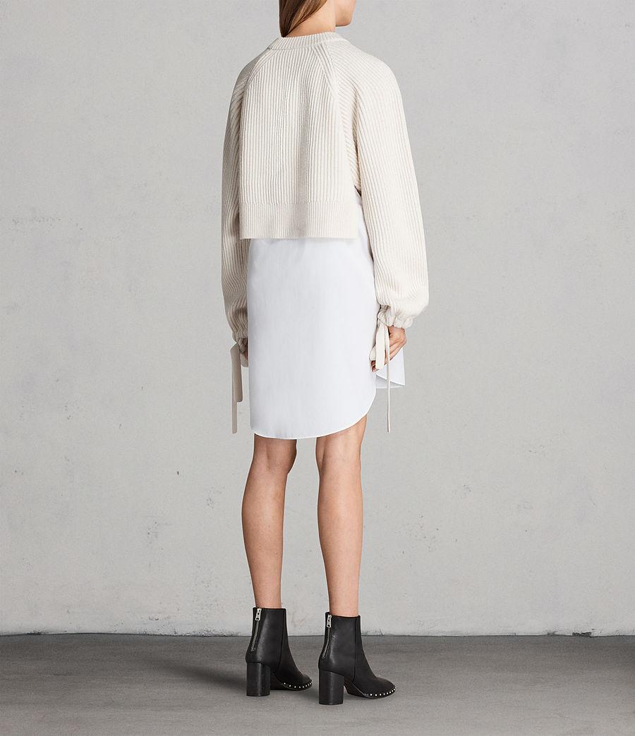 Femmes Robe-Pull Sura (chalk_white) - Image 6