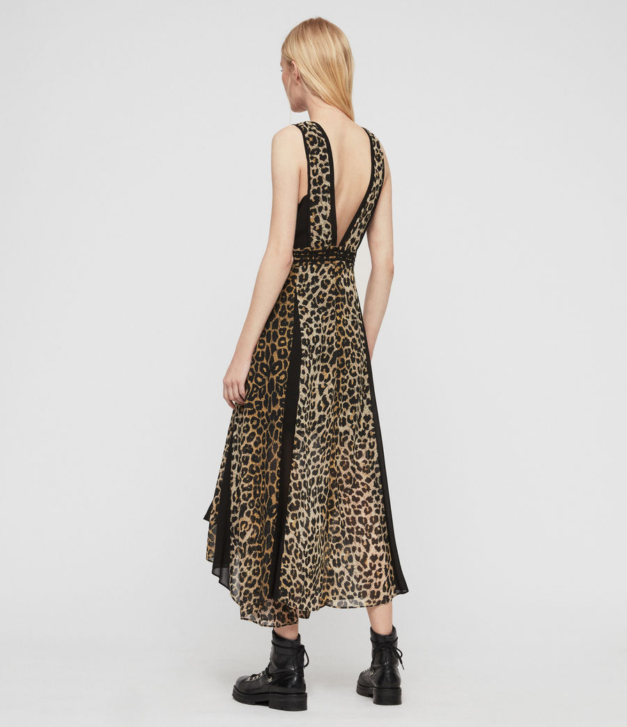 Women's Macella Leppo Dress (leopard_yellow) - Image 6