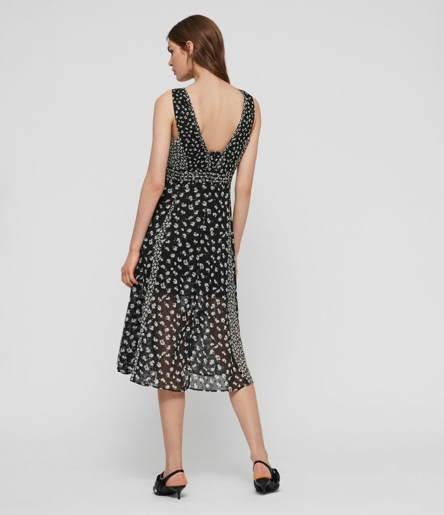 Women's Macella Scatter Dress (black) - Image 7