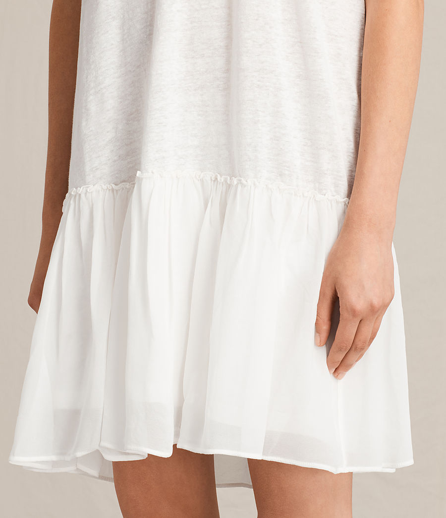 Damen Jody Jersey Dress (chalk_white) - Image 2