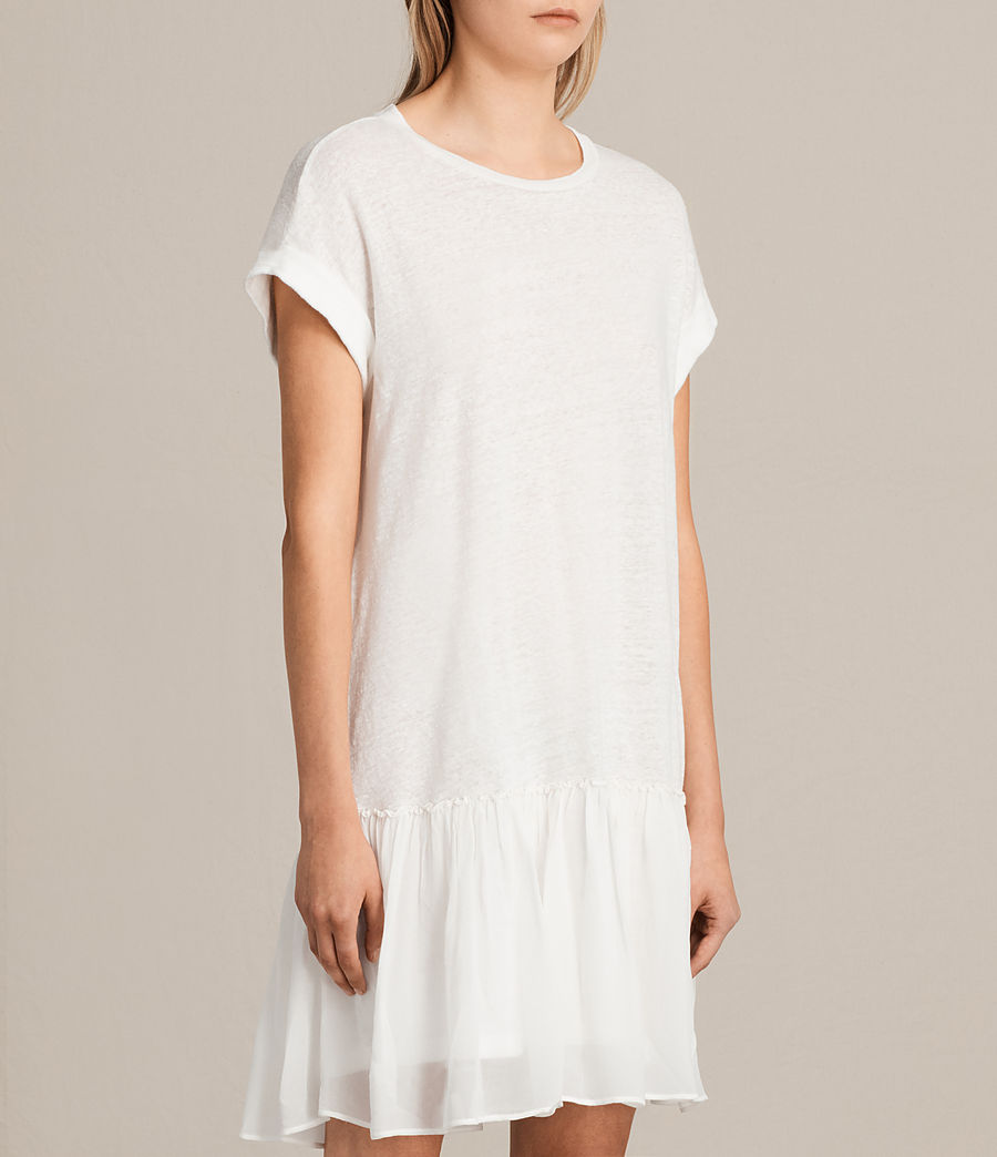 Damen Jody Jersey Dress (chalk_white) - Image 5
