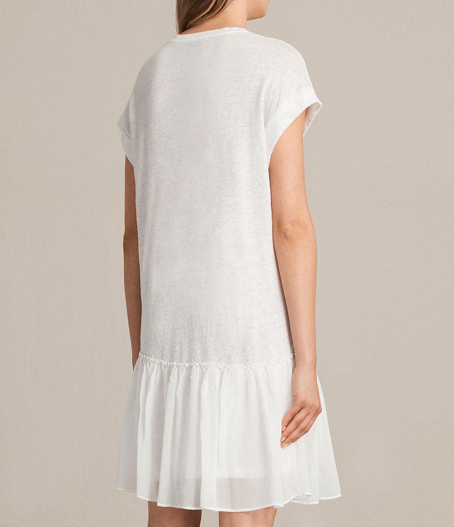 Womens Jody Jersey Dress (chalk_white) - Image 7