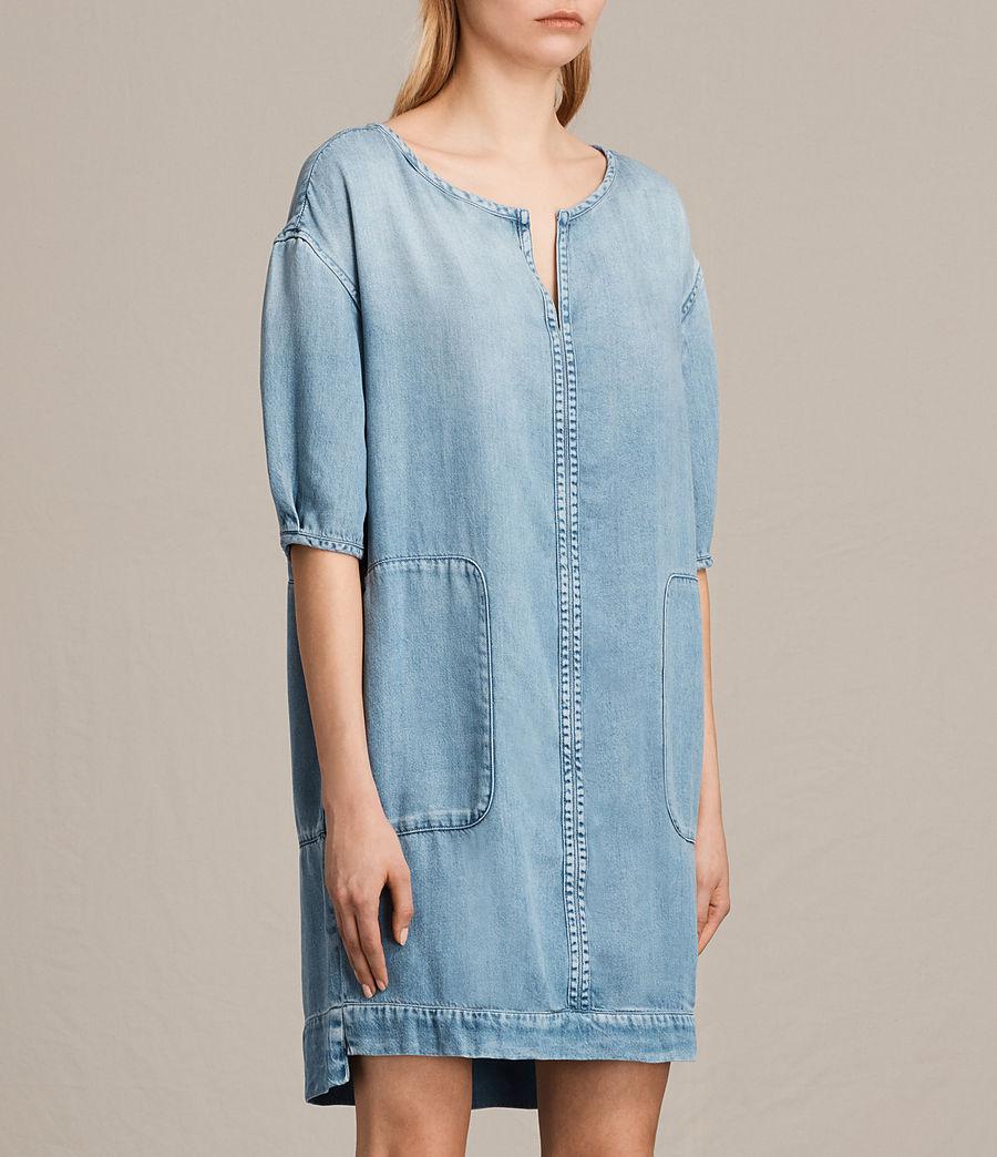Womens Sherri Dress (mid_indigo_blue) - Image 3